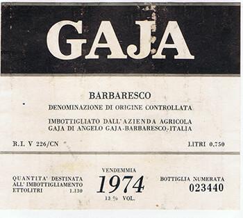 gaja-barbaresco-1974-etikett